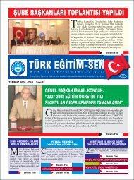 gazete onaylanan - Türk Eğitim-Sen