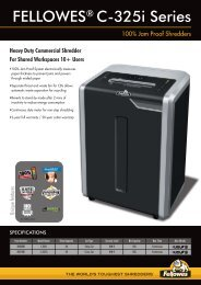 Fellowes C-325i Brochure.pdf - ClickCat