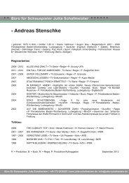 • Andreas Stenschke - Jutta Schafmeister