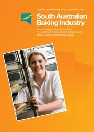 South Australian Baking Industry - FTH Skills Council