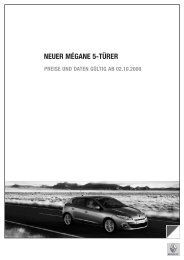 NEUER MÉGANE 5-TÜRER - Renault