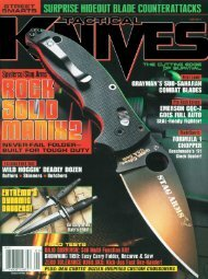 Tactical Knives - February 2011 - Wenger
