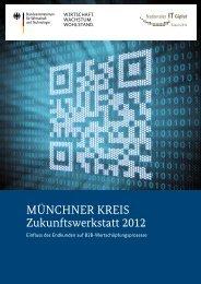 Münchner Kreis Zukunftswerkstatt 2012 - IT-Gipfel