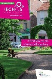 OUVERTS cet été à Vélizy-Villacoublay