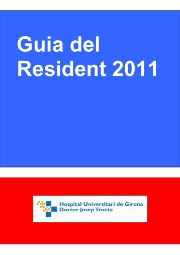 Llibre del resident - Generalitat de Catalunya