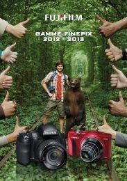 Dépliant gamme FinePix 2012-2013