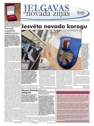 2011. gada novembris Nr. 11. - Jelgavas rajona padome