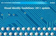 Visual Identity Guidelines - The IEEE Standards Association