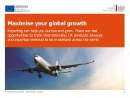 Maximise your global growth - Somerset Chamber of Commerce