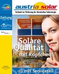 Zeitung - Austria Solar