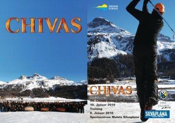 31. Chivas Snow Golf Turnier 10. Januar 2010 Training ... - Swiss Golf