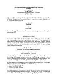 Thüringer Verordnung zur sonderpädagogischen Förderung ...