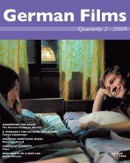 8 June 2009 25TH - German Films