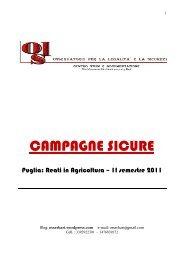 CAMPAGNE SICURE - Comune di Capurso