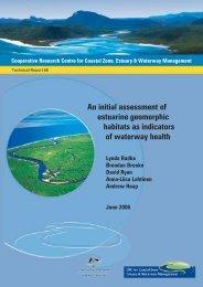 An initial assessment of estuarine geomorphic indicators ... - OzCoasts