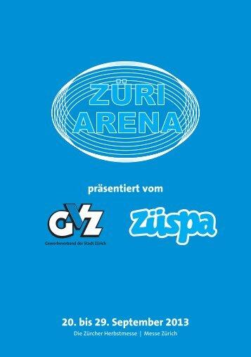 ZÜRI ARENA - Gewerbeverband der Stadt Zürich