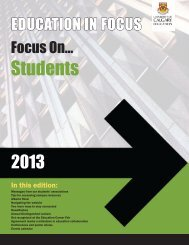 Students - Faculty of Education - University of Calgary