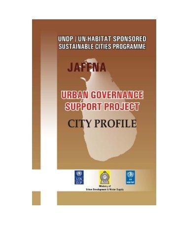 Jaffna - UN HABITAT