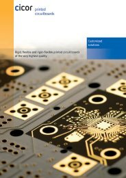 PCB Brochure - Cicor Technologies