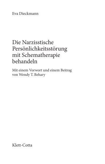 Die Narzisstische Persönlichkeitsstörung mit Schematherapie ...