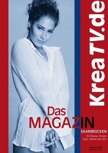 Magazin Aug 03 - FOTOSTUDIO Stuttgart