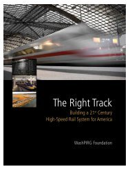 The Right Track - Public Interest Network