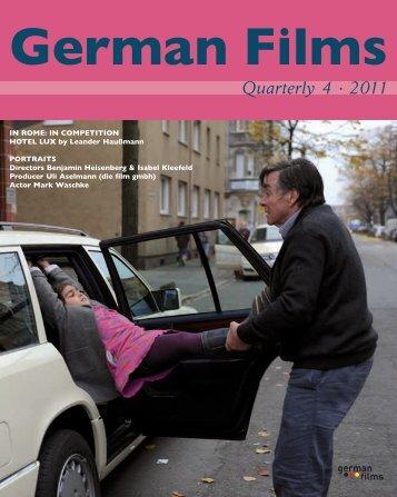 Quarterly 4 · 2011 - German Films