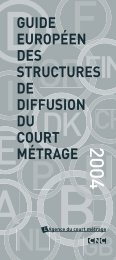 guide européen des structures de diffusion du court ... - Sixpackfilm