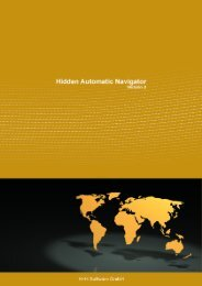 Hidden Automatic Navigator 2 - H+H Software GmbH