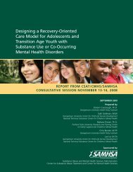 Designing a Recovery-Oriented Care Model for Adolescents and ...