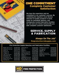 Fire Protection - HD Supply Waterworks