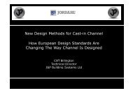 New design rules for channels - British Precast