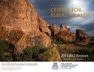 Download 2012 Report (PDF) - Arizona Center for Rural Health