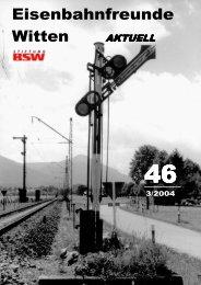 Download als PDF (Groß! 11,8 MB) - Eisenbahnfreunde Witten