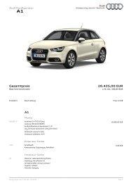 Gesamtpreis 26.435,00 EUR - A1talk.de
