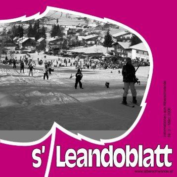 Informationen aus Alberschwende Nr. 3 – März 2006 www ...