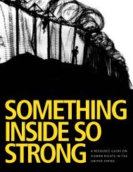Something Inside So Strong - Intergroup Resources