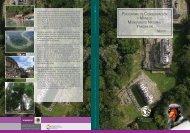 Programa de ConservaCión y manejo monumento natural ... - Conanp