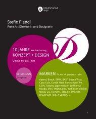 portfolio pdf - Stefie Plendl