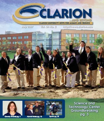 Science and Technology Center ... - Clarion University