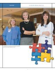 FEATURE eviDeNCe-BASeD PRACtiCe - School of Nursing