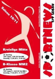 Rückblick Kreisliga Mitte - TSV Legau