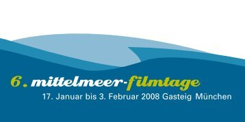 Info (pdf) - Filmstadt München