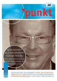 Ausgabe Nr. 20/Dezember 2012 - Arbeitsmedizinischer Dienst ...