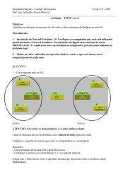 atividade pratica tcpip ne 2.pdf - Prof. Eng. Alexandre Dezem ...