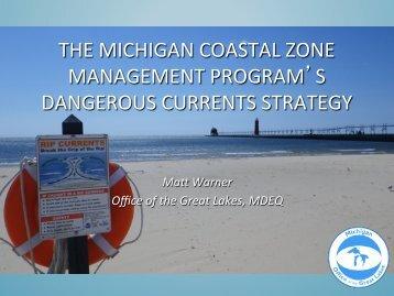 the michigan coastal zone management program's dangerous ...