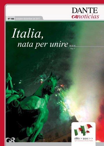 Italia, nata per unire - Asociación Dante Alighieri