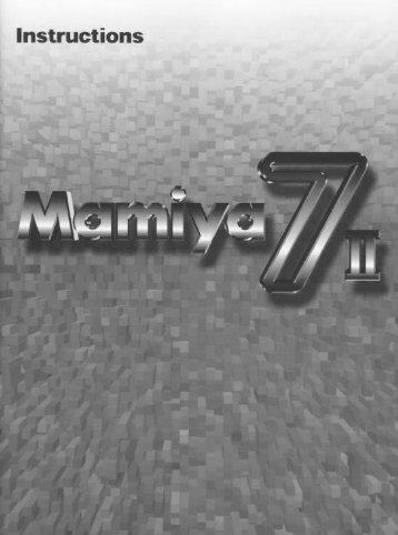 Read me first - Mamiya