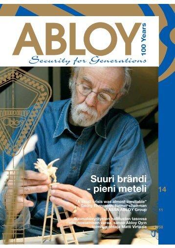 Sivu - Abloy Oy