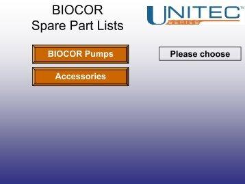 Spare Parts List - Csidesigns.com